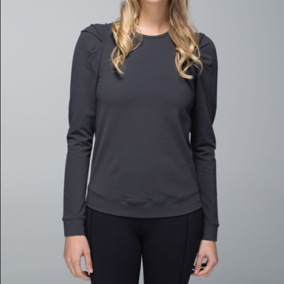 Lululemon Lab City Pullover Luon Size 8 Grey